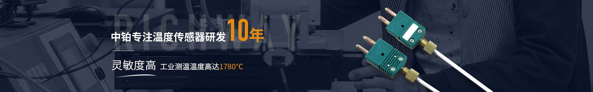 中铂提供工业测温元件一体化采购配套