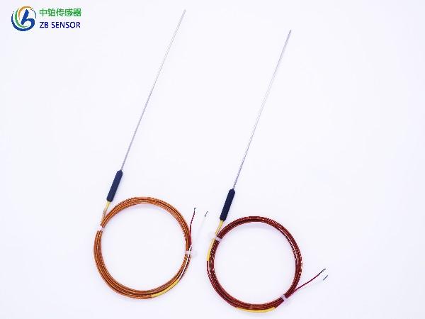 电木胶头针式铠装热电偶