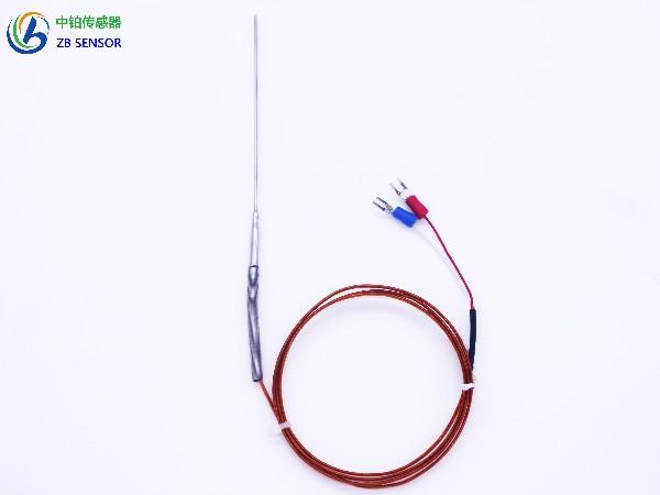 弹簧针式铠装热电偶